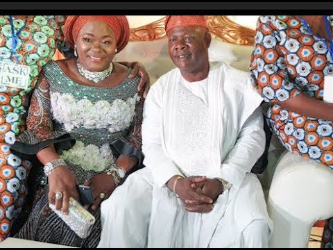 Download At Last! Meet Yoruba Actor Yinka Quadri Very Pretty Wife As She Sat Beside Him At His 60th Birthday