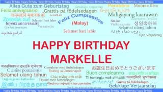 Markelle   Languages Idiomas - Happy Birthday