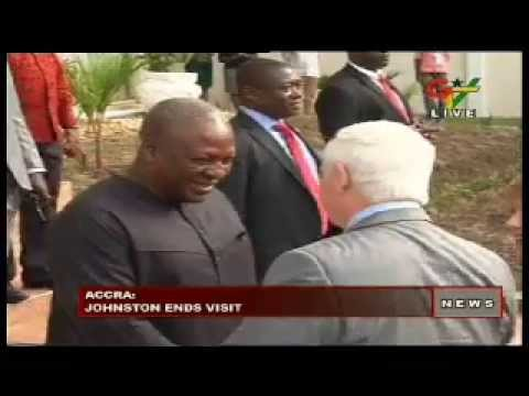 Canadian Governor - General leaves Ghana For Gaborone