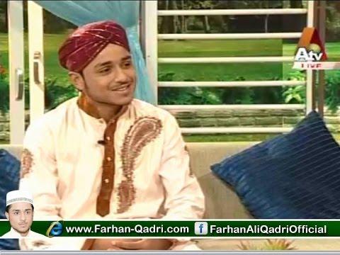 Farhan Ali Qadri Live Morning with Farah Atv - 7July  2014 [Complete Program]