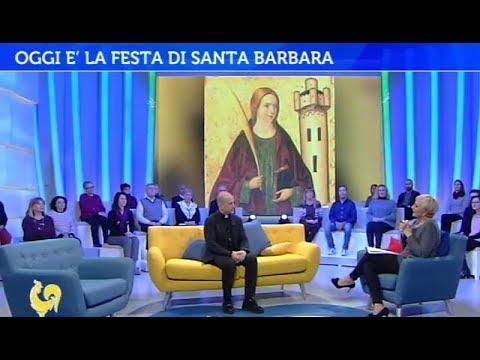 La festa di Santa Barbara