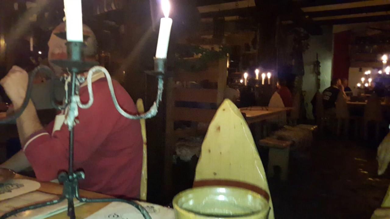 Mittelalterliches Restaurant Anno Domini In Dresden Klotzsche Youtube