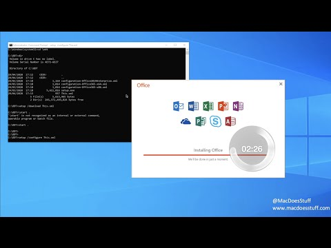 Tutorial - Install a previous version of Microsoft Office from Office365
