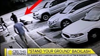 Man Shot Dead Over Handicap Parking Spot.Parking Lot Footage Released