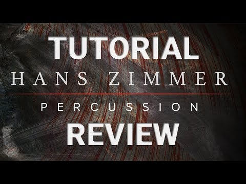 Tutorial: Generating Cinematic Drum Sequences w/ Hans Zimmer Percussion