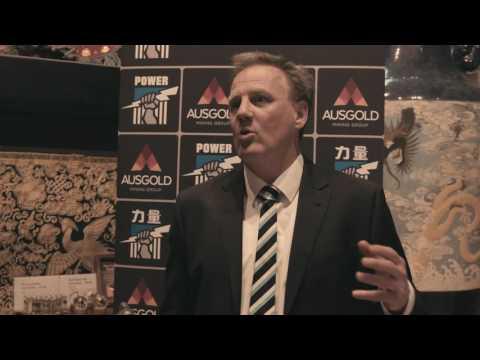 Keith Thomas on Ausgold Partnership - Launch of Shanghai 2017