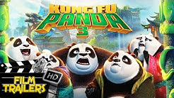 Kung Fu Panda 3 Trailer #1 #2 #3 (Nederlands Gesproken) | Film Trailers HD