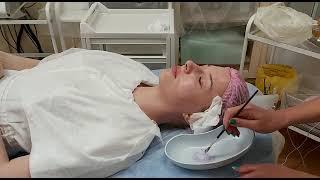 АирисКом студенты учатся первая практика учеников карбокситерапия