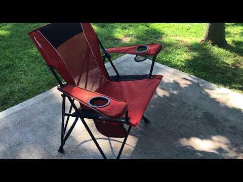 Kijaro XXL Dual Lock Portable Camping Chair