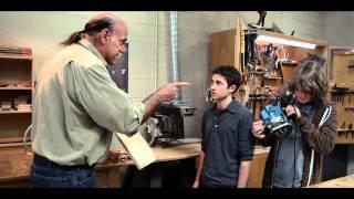 American High School Woodshop Movie Trailer Starring Jesse Ventura