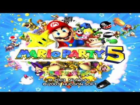 Mario Party 5 Demo - Mario Kart Bonus Disc