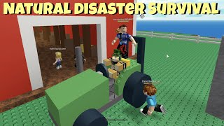 (not) surviving Roblox Natural Disasters