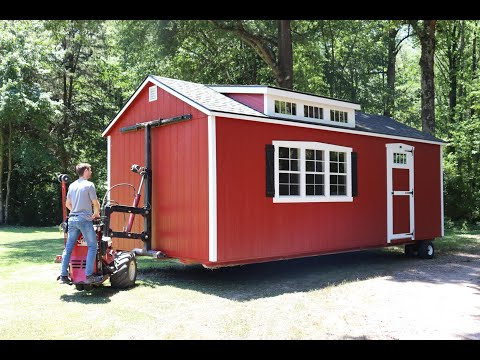 Watch The Road To Delivery To Learn How You Can Get A Shed Delivered!
