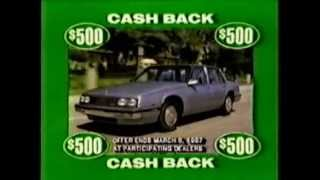 1987 Northern California Buick Dealers commercial