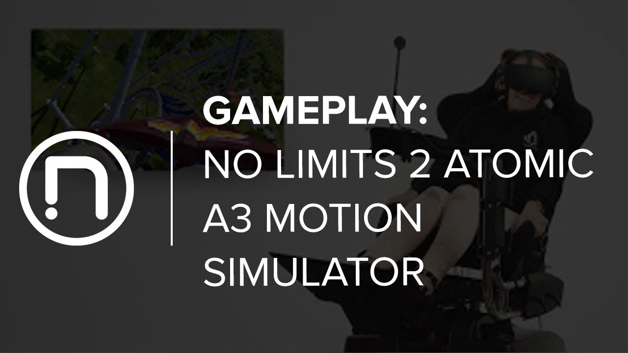 No Limits 2 Atomic A3 Motion Simulator Gameplay Footage