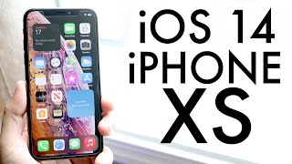 iOS 14 OFFICIAL On iPhone XS! (Review)