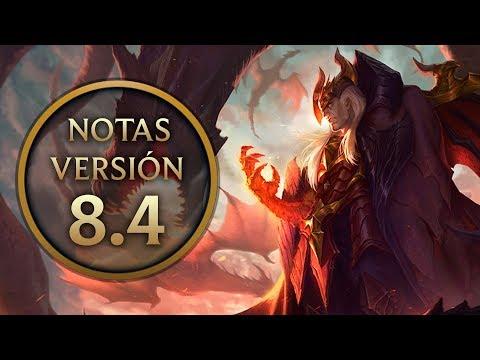 Notas de la versión 8.4 - Nuevos objetos  y runas, cambios a campeones y mejoras al Nashor.