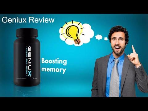 Geniux Review - Geniux brain pill