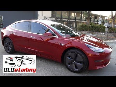 Tesla Model 3 - 3M Crystalline Window Tint - OCDetailing®