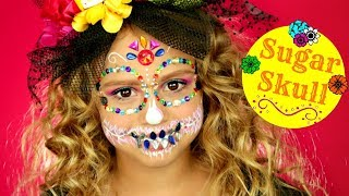 Sugar Skull Makeup Tutorial - EASY Jewels