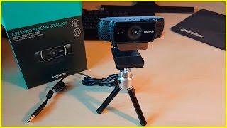 Обзор Веб-Камеры LOGITECH C922 PRO STREAM
