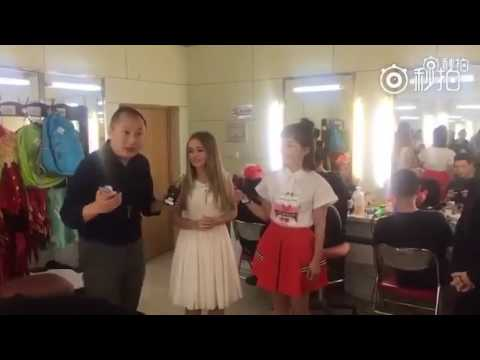 Connie Talbot - Interview & Cup Song for CCTV - 2 {2017}