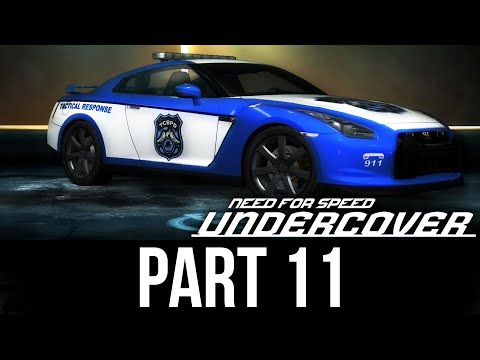 NEED FOR SPEED UNDERCOVER Gameplay Walkthrough Part 11 - STEALING A POLICE GT-R