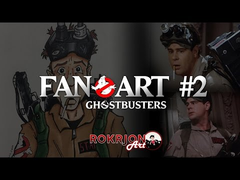 Ghostbusters Ray Stantz Fan Art - RokrJon Art