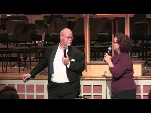 Oregon Symphony Principal Oboe Martin Hebert and All Classical Portland Morning Host Christa Wessel