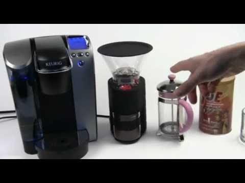 Making French Press Coffee with Keurig Coffee Brewer - YouTube