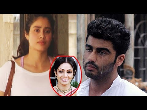 Arjun Kapoor Cry While Meeting Jhanvi Kapoor Sridevi Daughter