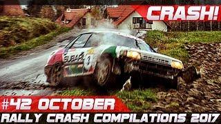 Rally Crash Compilation Week 42 October 2017 (incl. WRC Wales Rally GB) | RACINGFAIL
