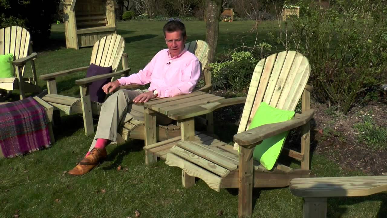 lilly garden furniture range by zest
