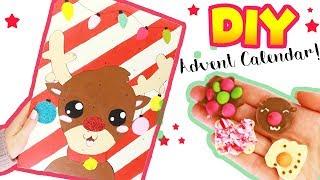 DIY Cute ADVENT CALENDAR +EASY X-mas CHOCOLATES! |  X-MAS DIY!