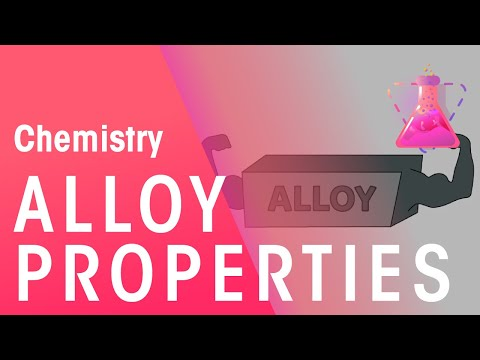 Alloy and their Properties | Chemistry for All | The Fuse School