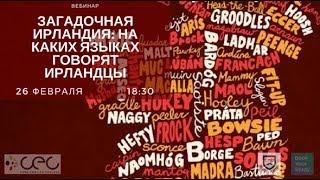 На каких языках говорят ирландцы: гиберно-английский — Вебинары от BookYourStudy