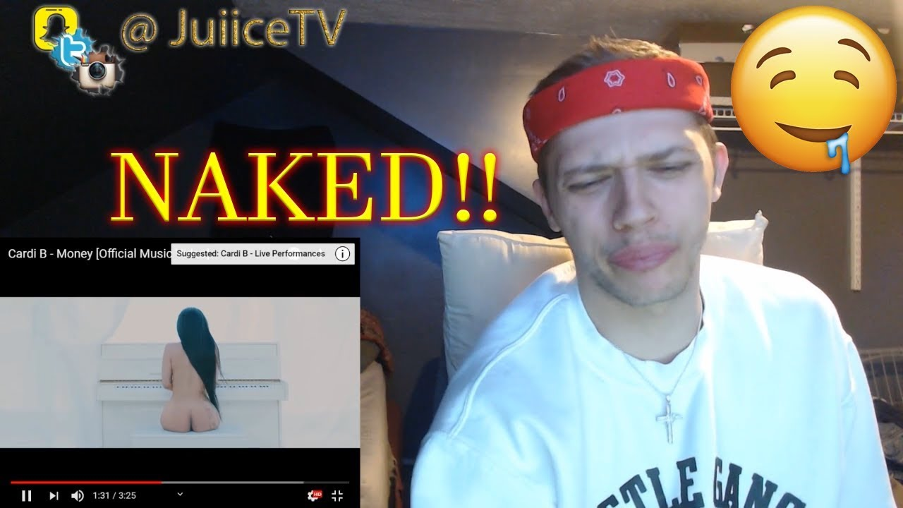 NAKED! Cardi B - Money [Official Music Video] (REACTION