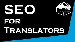 SEO for Translators | Get your own online translator jobs! | Utah SEO Ninja