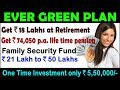 LIC's Ever Green Plan || Life Time Pension || Family Security || Happy Retirement