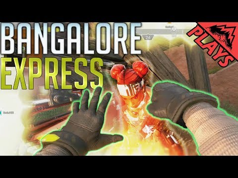 Bangalore Express - Apex Legends Bangalore Full Gameplay