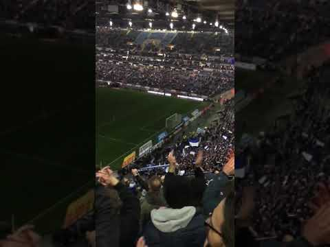 Frankfurt Schalke 2:2 am 16.12.2017 in der Commerzbank-Arena