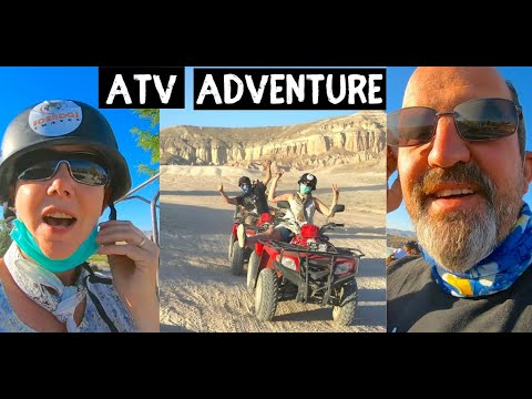 MUST do this in TURKEY Exploring Cappadocia by ATV Quad Bike