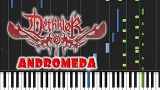 Dethklok - Andromeda Piano Cover [Easy Synthesia Piano Tutorial]