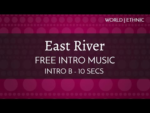 Free Royalty Free Intro Music - 'East River'' (Intro B - 10 seconds)