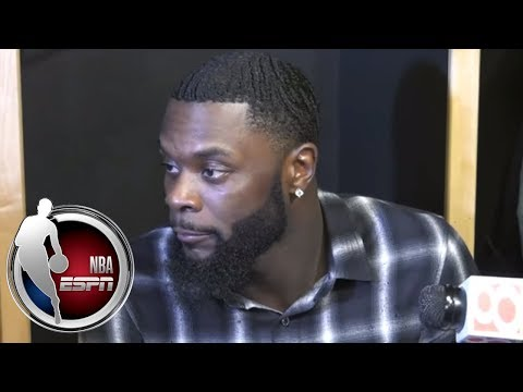 [FULL] Lance Stephenson on loss: 'This will make us even hungrier for next year' | NBA on ESPN