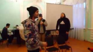Noize MC в Пензе - фристайл на пресс-конференции (16+)(Прокат аренда проектора и звукового оборудования для любых мероприятий в Пензе. Телефон 8 (927) 096-61-65 Проекто..., 2015-04-20T14:41:01.000Z)