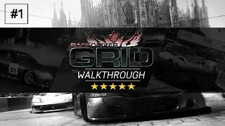 Race Driver: GRID | Career Mode Walkthrough! | Episode #1 - THE NOSTALGIA!