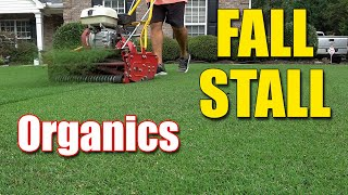 Fall Organic Lawn Proḋucts - Last Chance to Apply