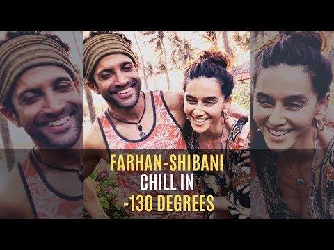 Farhan Akhtar And Shibani Dandekar Take The Freezing Cryotherapy Session   SpotboyE Mp3