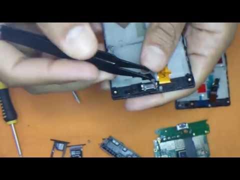 Trocando tela Nokia Lumia 720